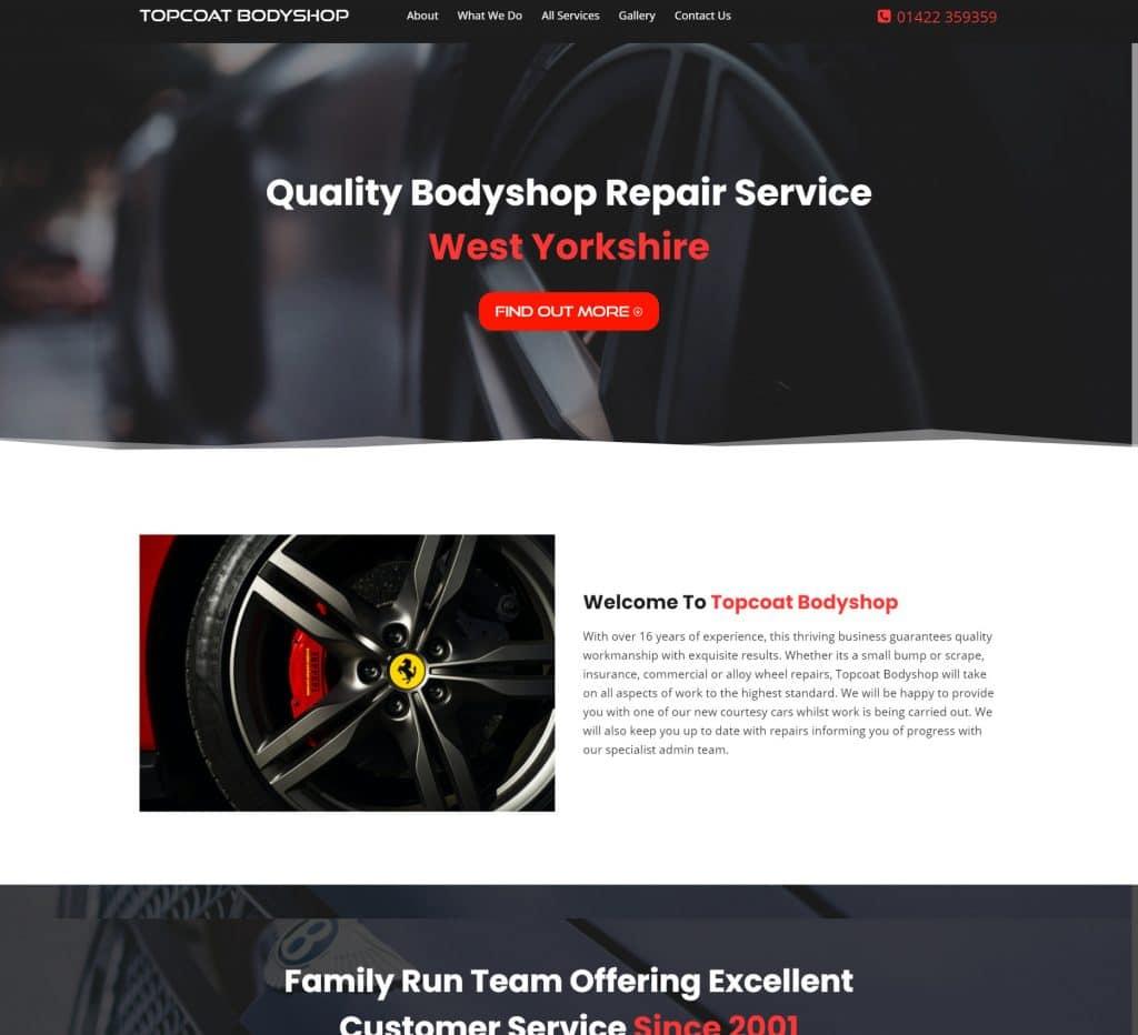 Custom Car Bodyshop Portfolio