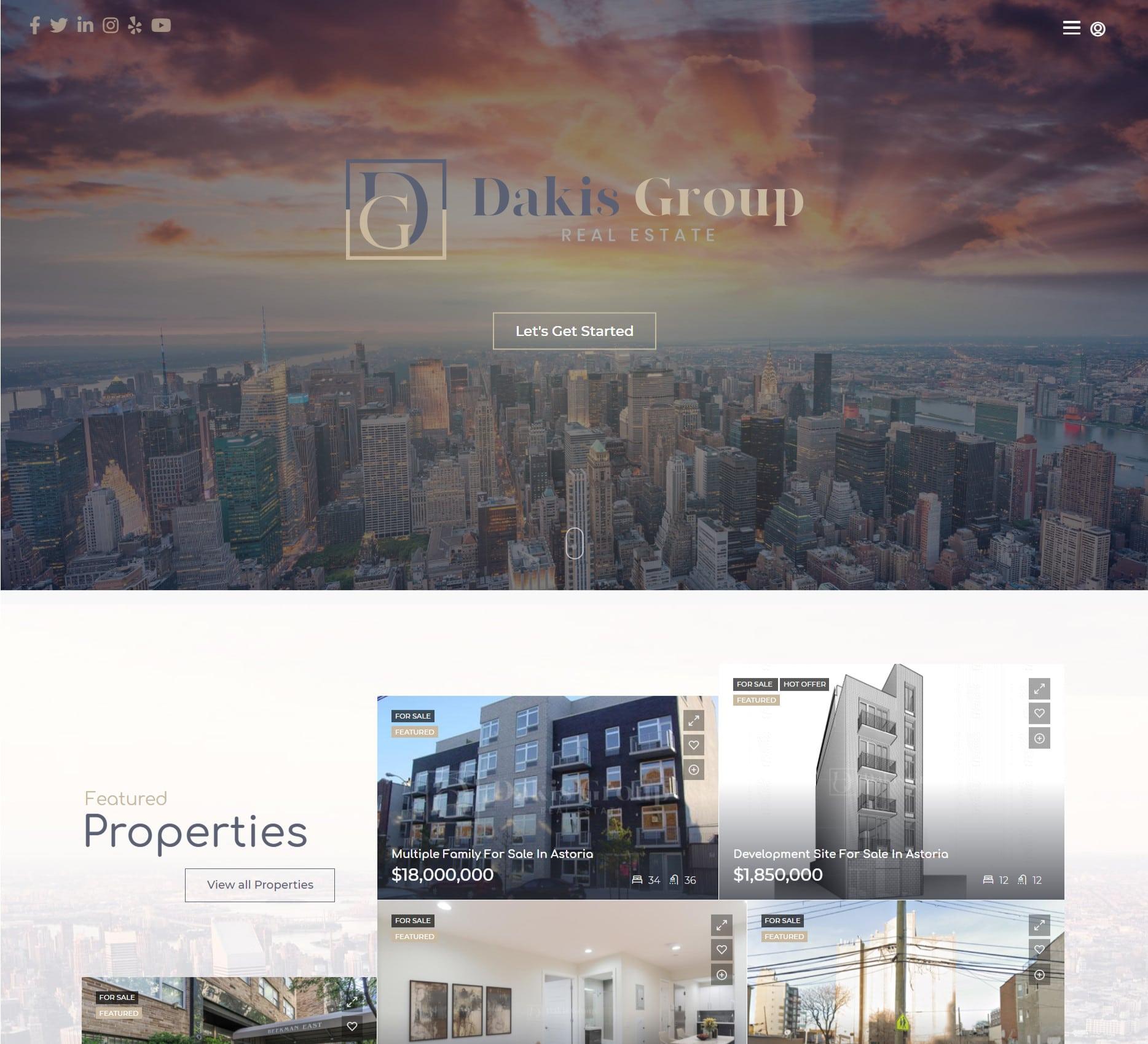 Dakis Group - Real Estate - Portfolio