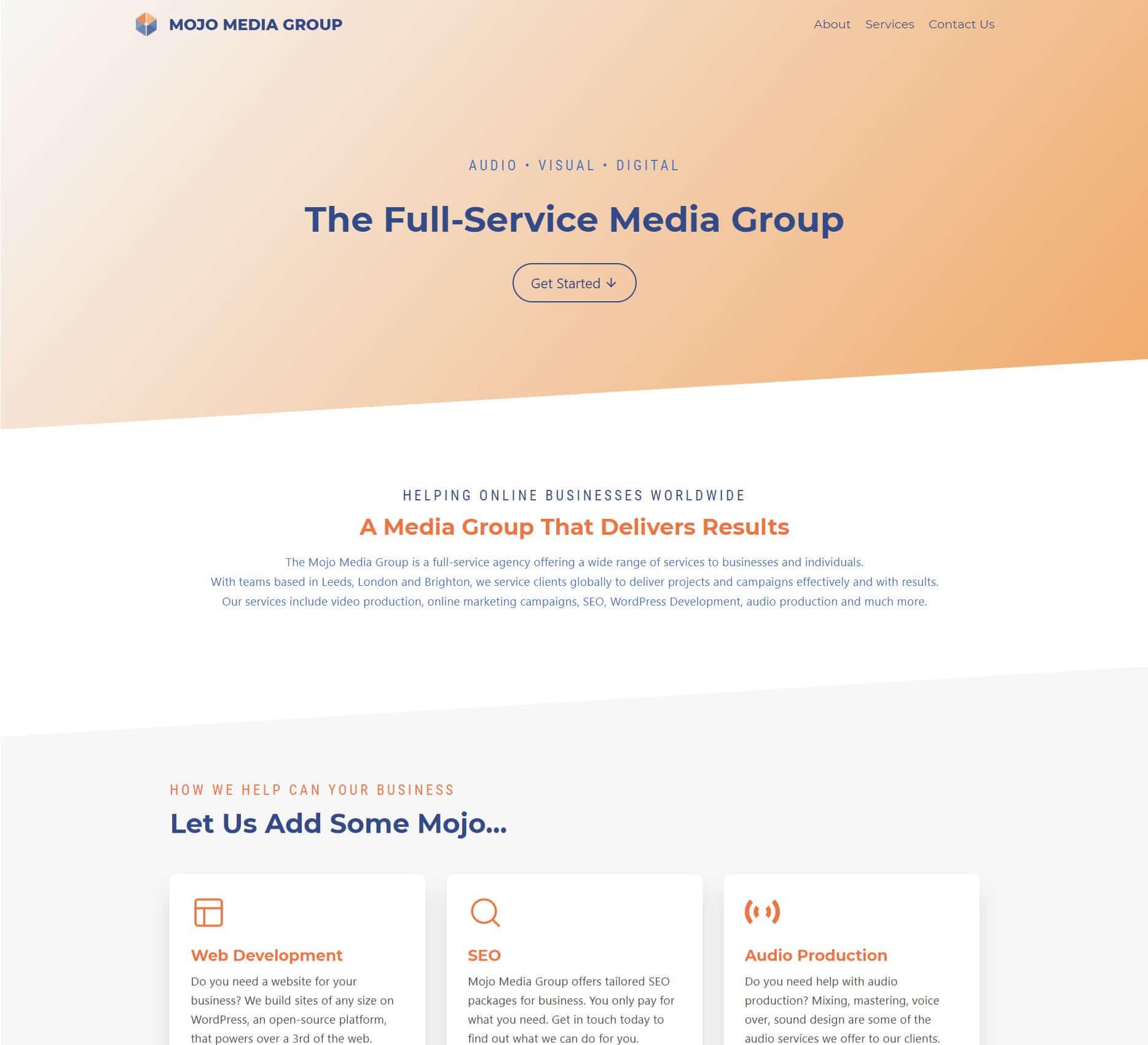Mojo Media Group Porfolio