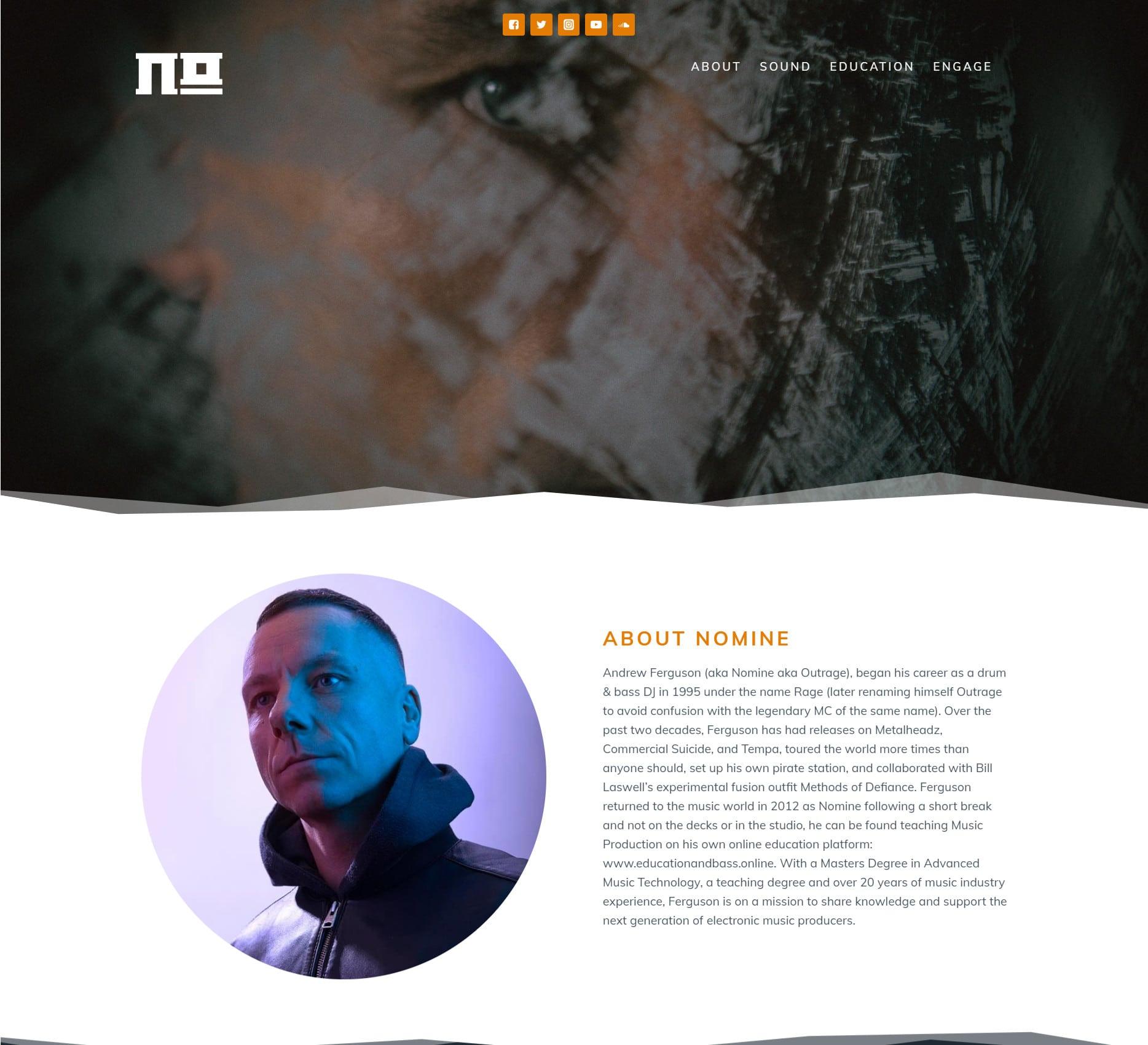 Nomine Sound - DJ - Producer - Portfolio